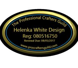 PCG Sapphire - Helenka White Design - Small