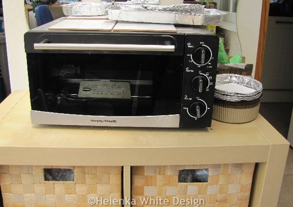 My dedicated toaster oven for polymer clay